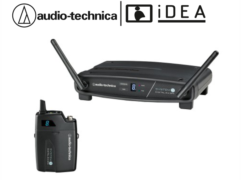 AUDIO TECHNICA ATW-1101 TEKLİ YAKA TELSİZ AUDIO TECHNICA MİKROFON