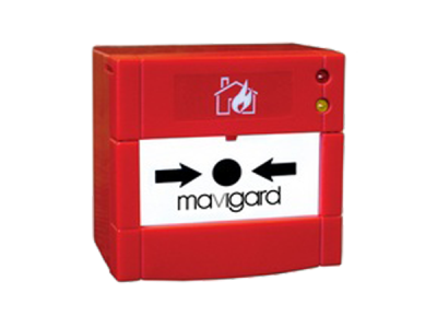 MG-8130 Adreslenebilir Yangın Alarm Butonu