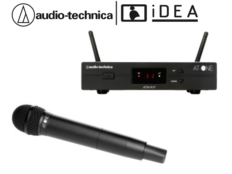 AUDIO TECHNICA ATW13F TEKLİ EL TELSİZ AUDIO TECHNICA MİKROFON