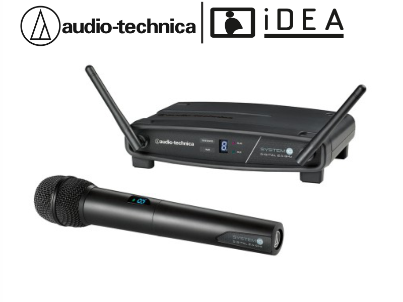 AUDIO TECHNICA ATW-1102 TEKLİ EL TELSİZ AUDIO TECHNICA MİKROFON
