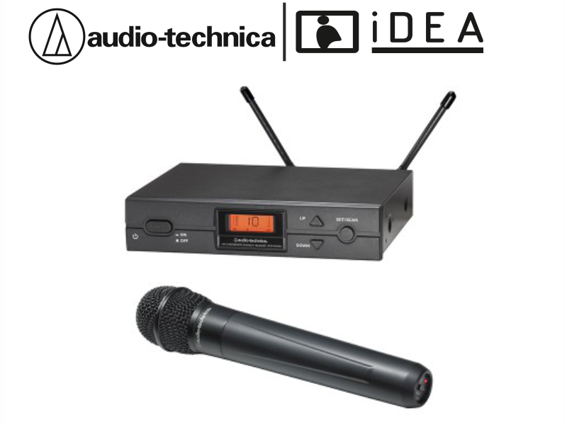 AUDIO TECHNICA ATW-2120a TEKLİ EL TELSİZ AUDIO TECHNICA MİKROFON